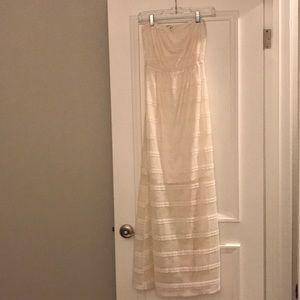 Monteau LA White Maxi Dress